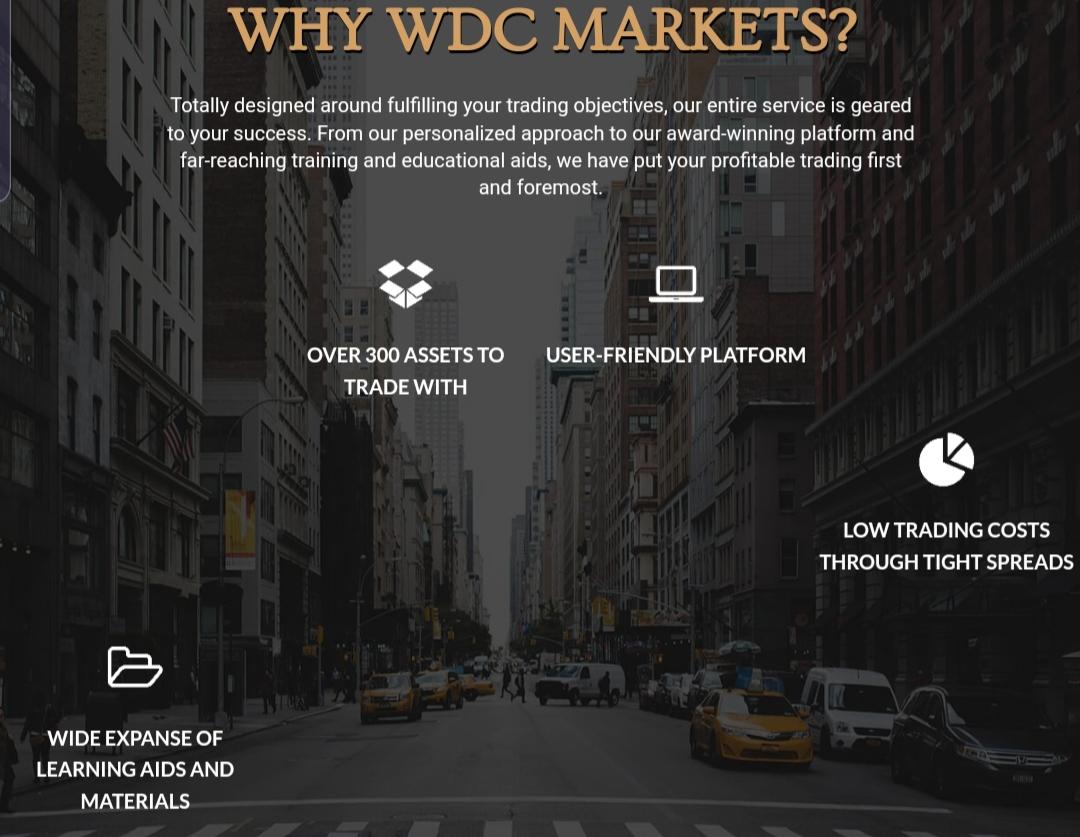 Wdcmarkets broker