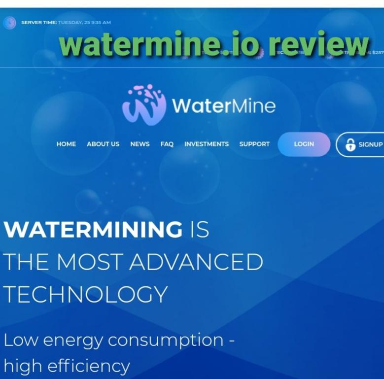 Watermine.io review