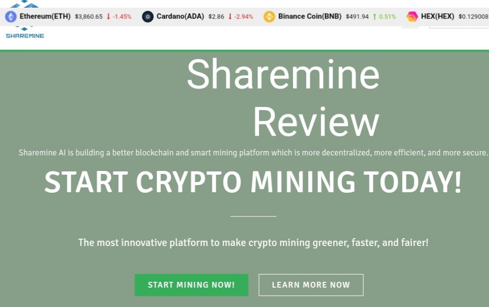 Sharemine Review