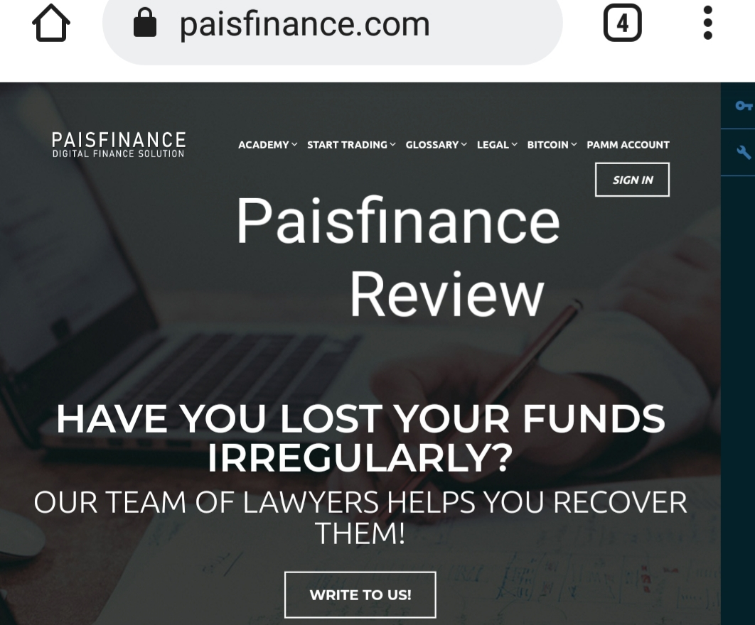 Paisfinance